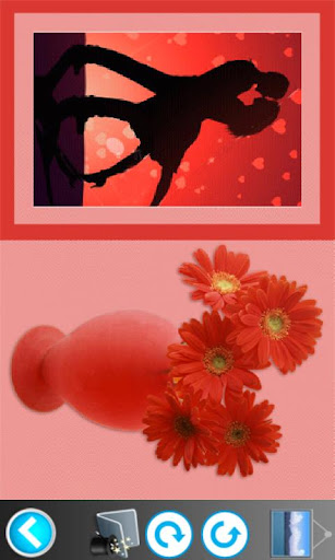 花フォトフレーム