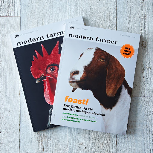 Modern Farmer Single Issue with Limited Edition Market Tote Bag