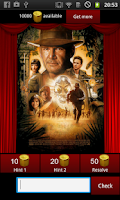 Screenshot of Movie Poster Quiz