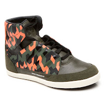 Y-3 Honja Camouflage High Top TRAINER