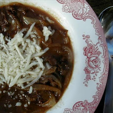 Rich Onion Beef Soup