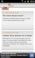 Screenshot of Sport News