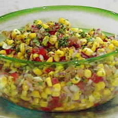 Toasted Sweetcorn Salsa