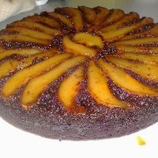 Gingerbread-Pear Upside-Down Cake