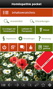 Homöopathie pocket screenshot for Android