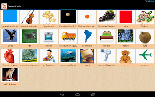 Screenshot of Educational cards for kids