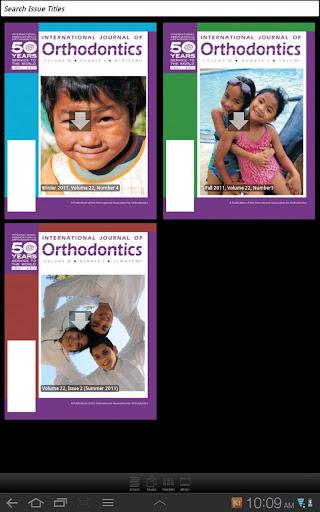Intl Assoc for Orthodontics