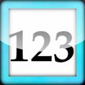 Numéros tactile 1,2,3 icon