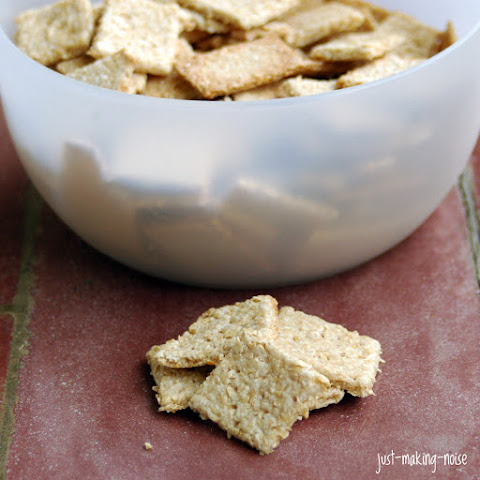 Easy Homemade Whole Grain Crackers