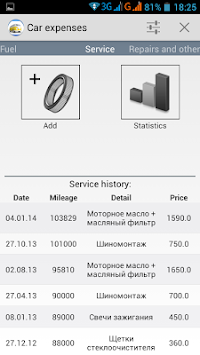 Car Expenses APK screenshot thumbnail 17