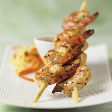 Lemongrass Shrimp Skewers