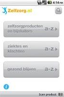 Screenshot of Zelfzorg