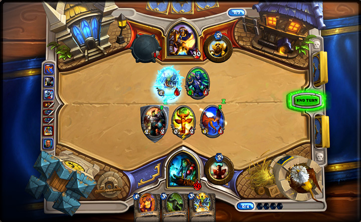 Hearthstone arrives on the iPad