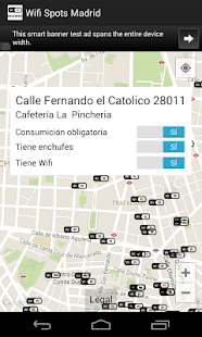 Wifi Spots Madrid - screenshot