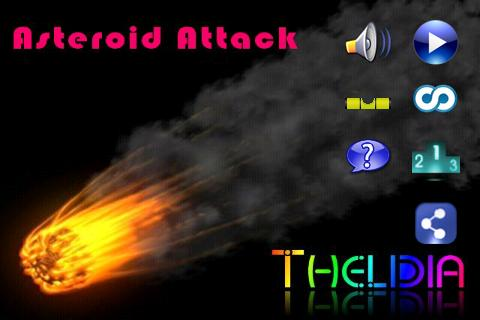 Thelidia Asteroid Attack