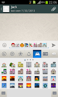 Screenshot of Emoji Keyboard Pro