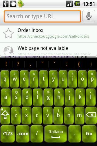 Lime Foggy Keyboard Skin