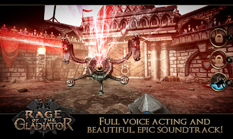 Screenshot of Rage of the Gladiator