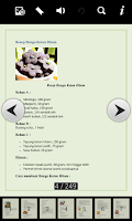 Screenshot of Kumpulan Resep Kue