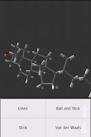 Screenshot of Molecule Viewer 3D