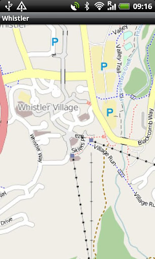 【免費旅遊App】Whistler Ski Area Map-APP點子