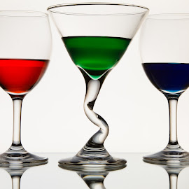 Sparkle by Kim Wilhite - Food & Drink Alcohol & Drinks ( wine, martini, art, glass )