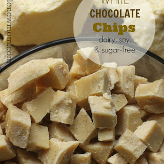 White Chocolate Chips (Dairy, Sugar, and Soy-Free)