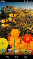 Screenshot of Flowers HD LWP
