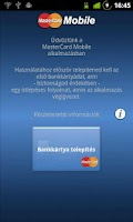 Screenshot of MasterCard Mobile