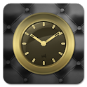 Gold Clock Widget icon