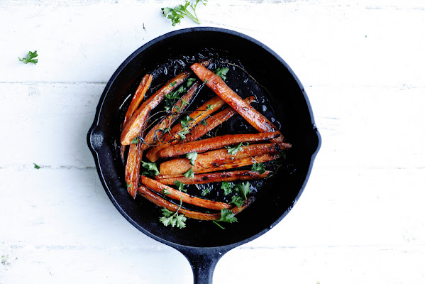 Better, brighter roasted carrots.