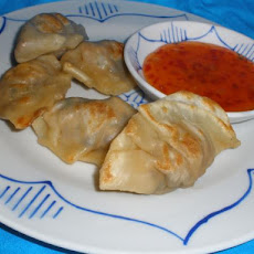 Shiitake Tofu Pot Stickers