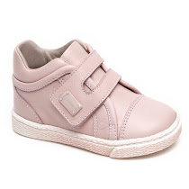Dolce & Gabbana Girls Toddler Leather Trainer TODLER VELCRO