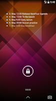 Screenshot of NextFour Agenda Widget