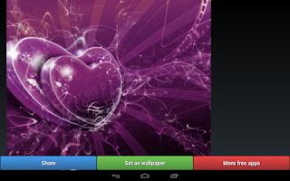 Screenshot of Lovely Purple HD Wallpapers