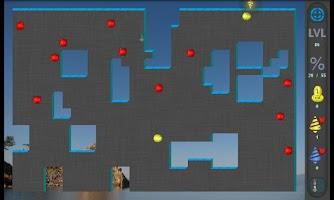 Screenshot of Xonix Blast
