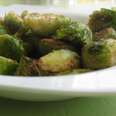 Brussels Sprouts, Flash Curried