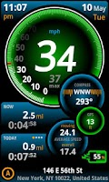 Screenshot of Ulysse Speedometer Pro