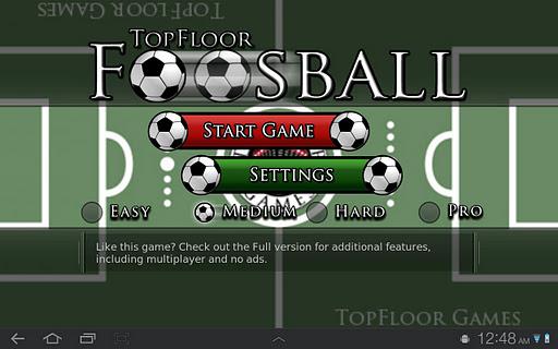 TopFloor Foosball LITE
