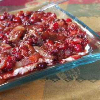 Cranberry- Caramelized Onion Cheese Spread