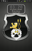Screenshot of Metal Lion Go Locker Theme