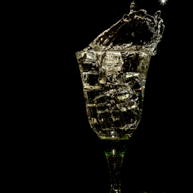 Cheers!!! by Dinesh Verma - Abstract Water Drops & Splashes ( water, water drops, waterscape, glass, water splash )