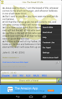 Screenshot of Words of Jesus Daily Bible
