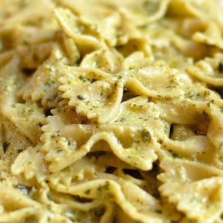 Creamy Pesto Pasta Vegetarian Recipes