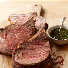 Standing Rib Roast with Jus Recipe