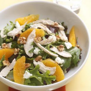 Orange-Walnut Salad with Chicken