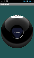 Screenshot of Magic 8 Ball