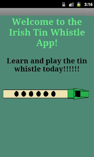 The Irish Tin Whistle App
