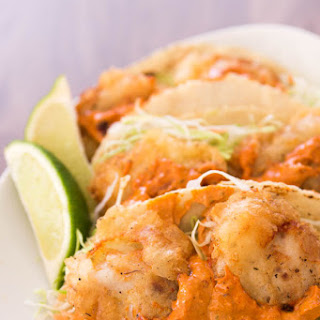 Fish Tacos with Chili Lime Allioli