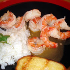 Rum and Lime Prawns